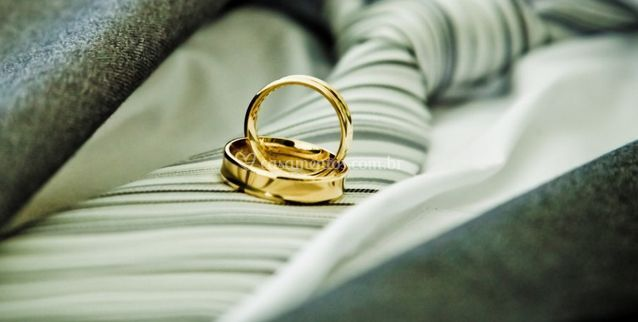 As alianças de casamento