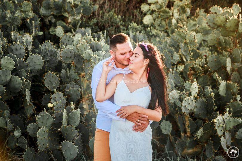 Casal Apaixonado no Iguape