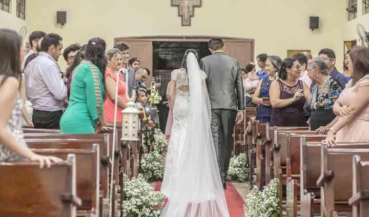 A saída da noiva