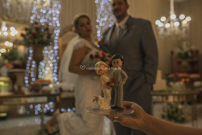 Casados para sempre.