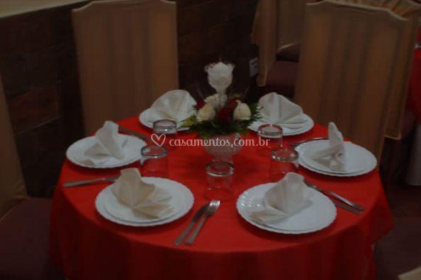 Decorações de mesa