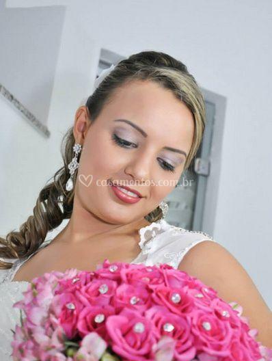A noiva pronta para casar