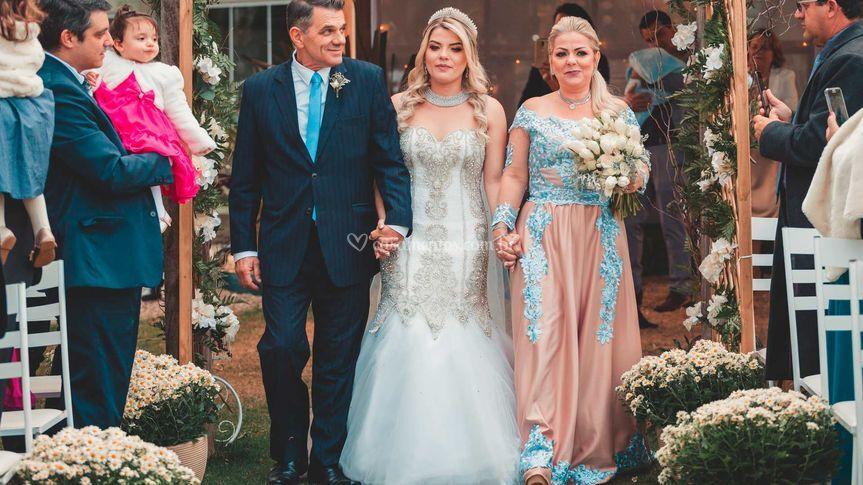 Casamento de Caroline & Ricard