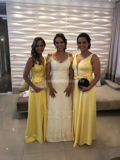 Dress Amarelo