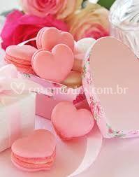 Macaron coração