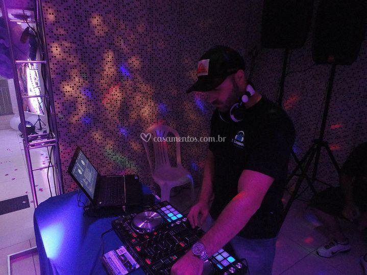 DJ em ação