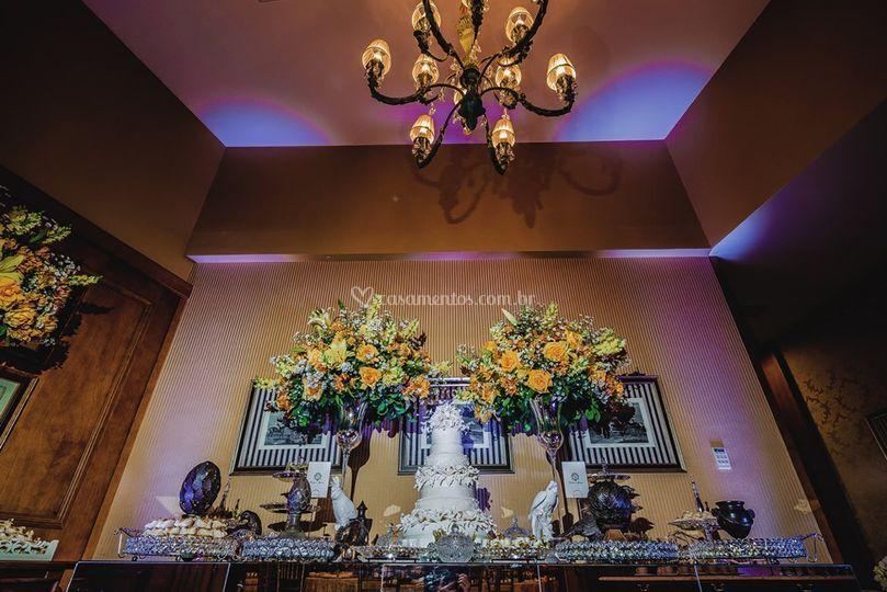 Foyer da sala dama