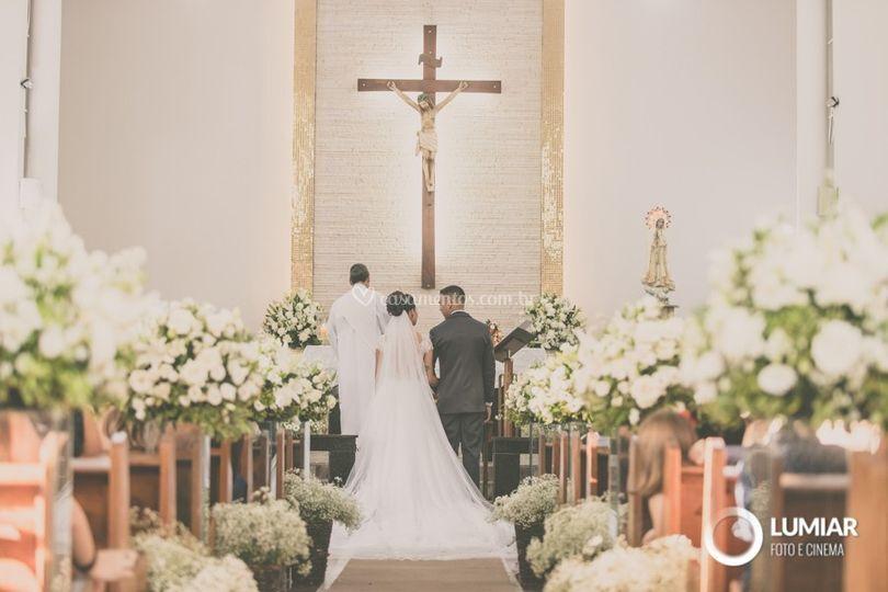 Corredor para a noiva