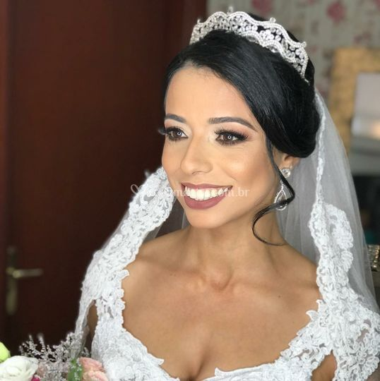Noiva Ane maravilhosa