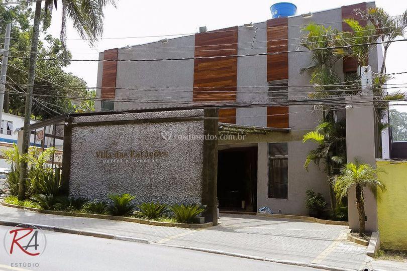 Fachada Villa das Estações