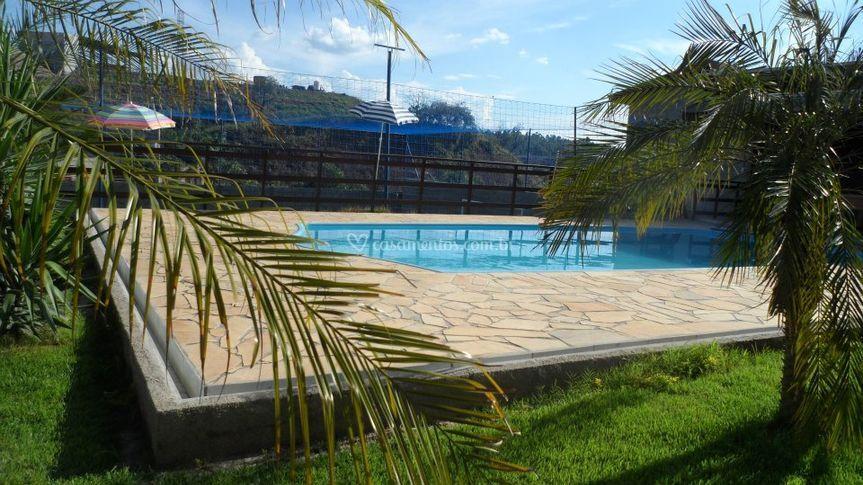 EspaÇo externo -piscina