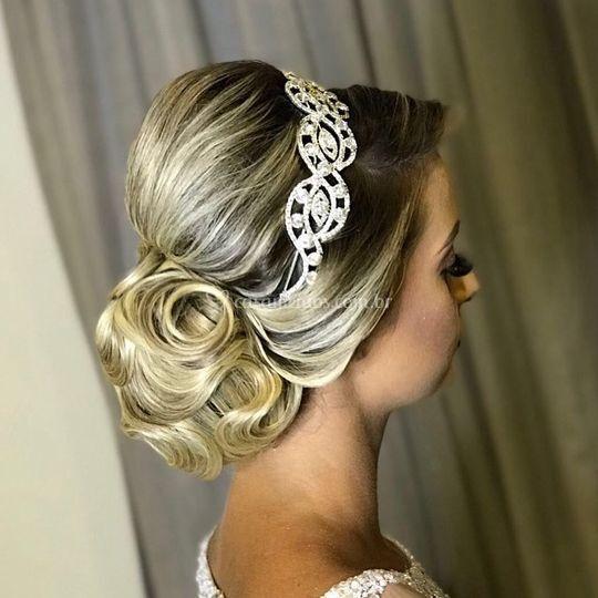 Penteado para noivas