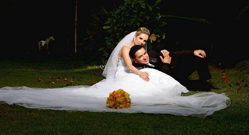 Pós casamento  - magia da luz