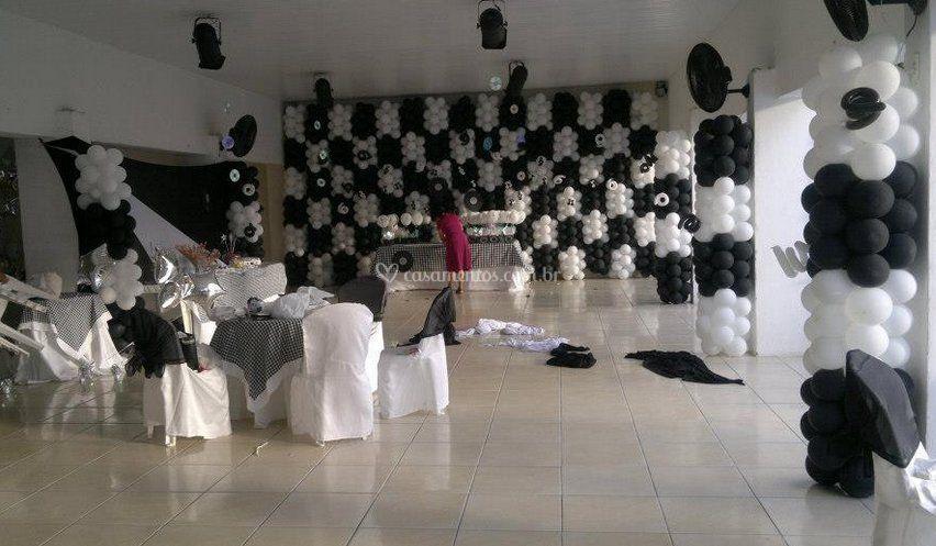 Decoração para eventos de Show de Bolas  Decorações com Balões
