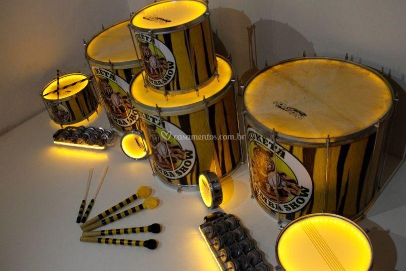 Nossos Instrumentos Iluminados