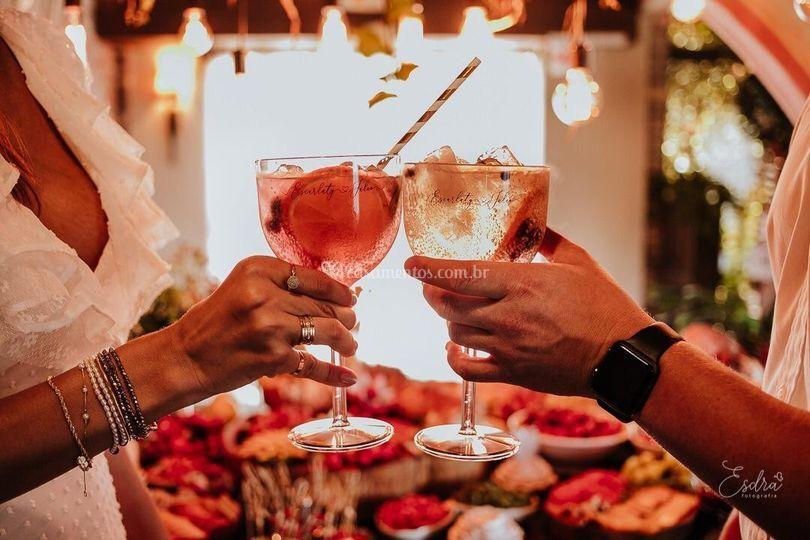 Taça de Gin para Casamento