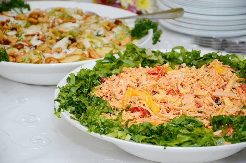 Uma de nossas saladas.