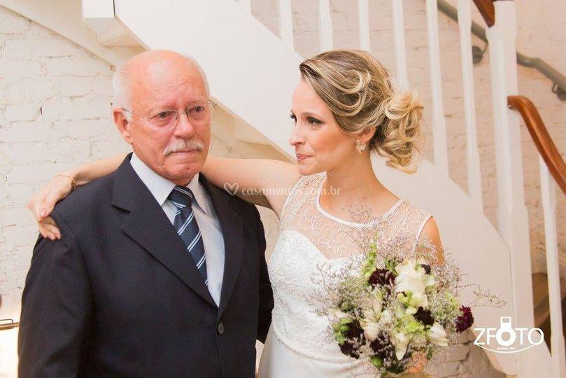 Com o pai