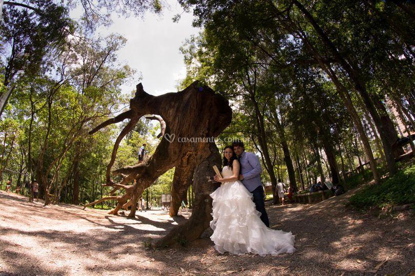 Ensaio Pré-Wedding no Parque