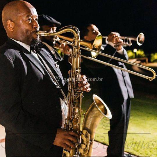 Saxofone sopros