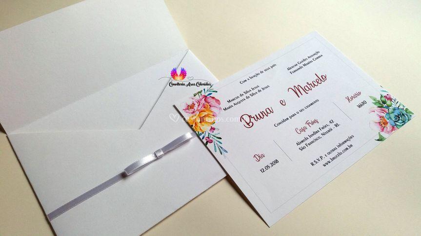 Convite Bianca