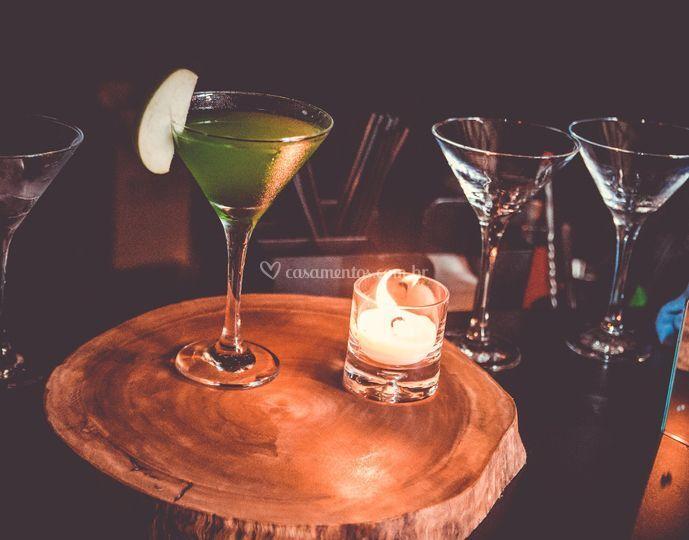 Coquetel - Apple Martini