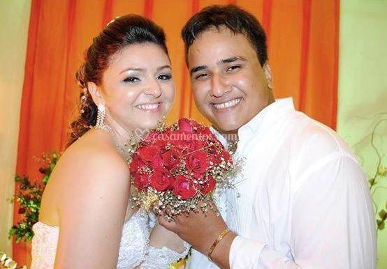 Foto da noiva e do noivo de Clic Santa Luzia