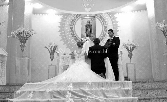 Juntos no altar
