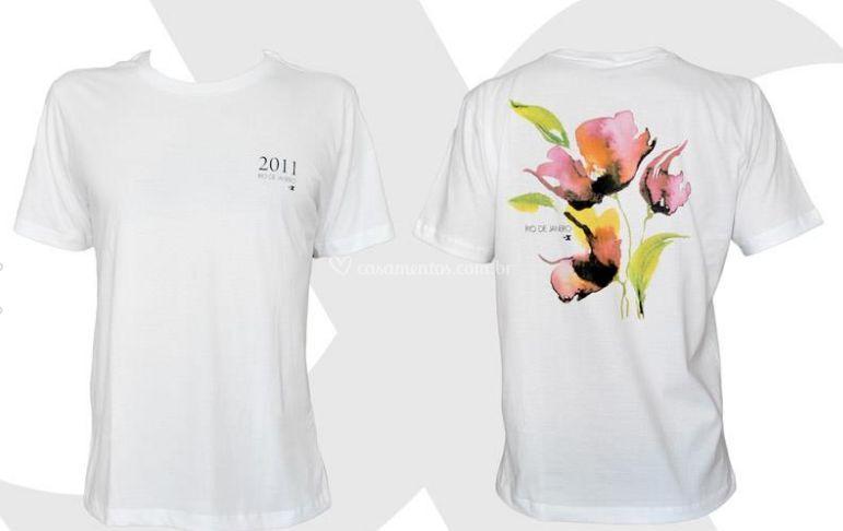 T-shirts impressas