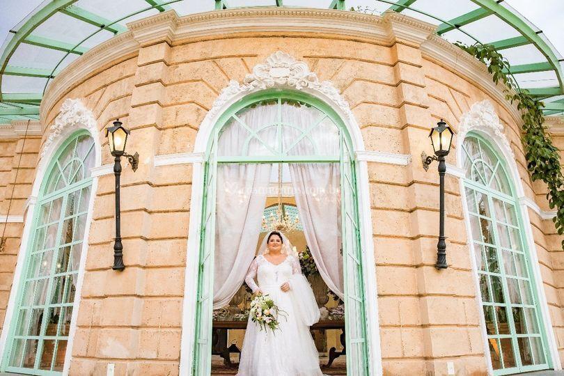 Inigualável beleza da noiva