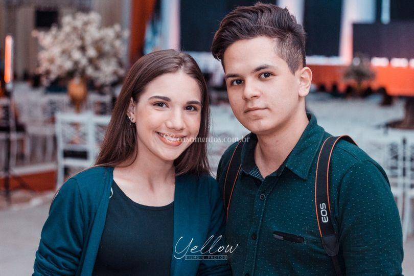 Thomas e Mariana,
