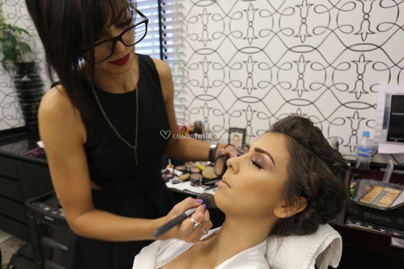 Maquiagem noiva *real
