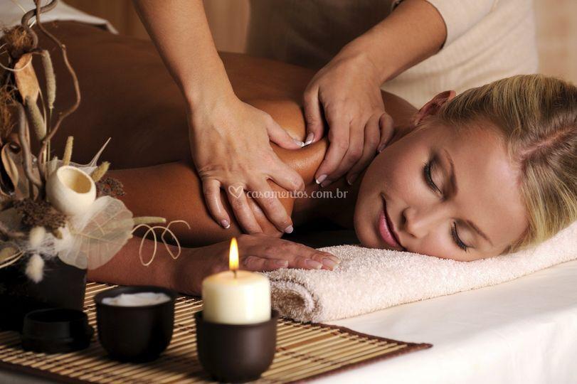 Massagem noiva