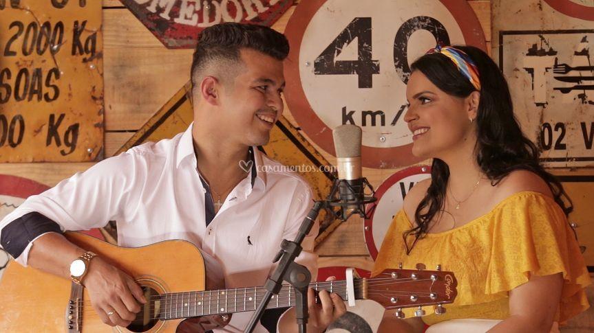 Marcelly e Danilo