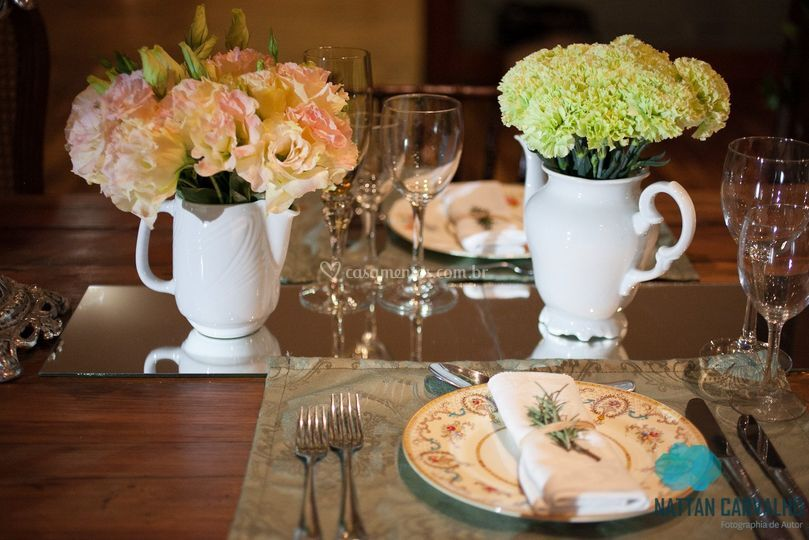 Casamento cores pastéis