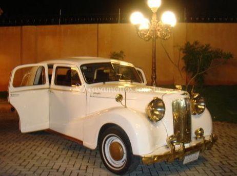 Carro para os noivos