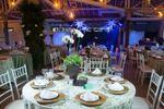 Mesa para os convidados de Esta��o Baroneza
