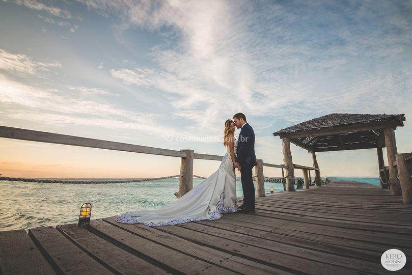 Ana e Victor - Cancun