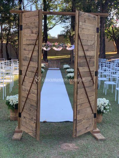 Porta + Cadeiras