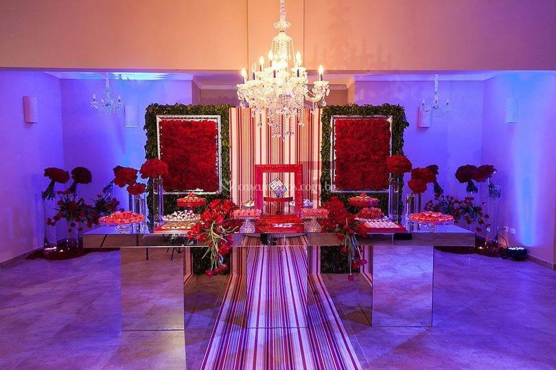 Salão portal vermelho