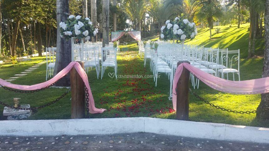 Área pra cerimônia