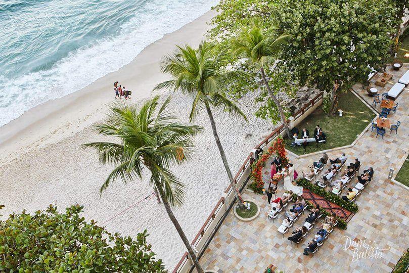 Mini-Wedding de Dia na Praia