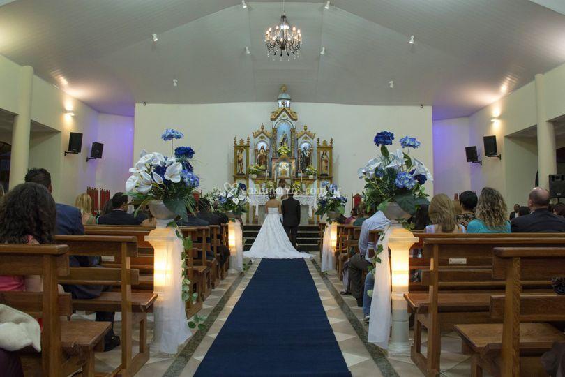 Amostra casamento