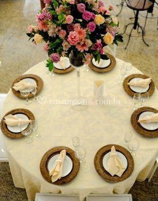 Mesa para convidados