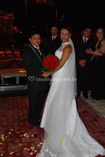 Saida do casal