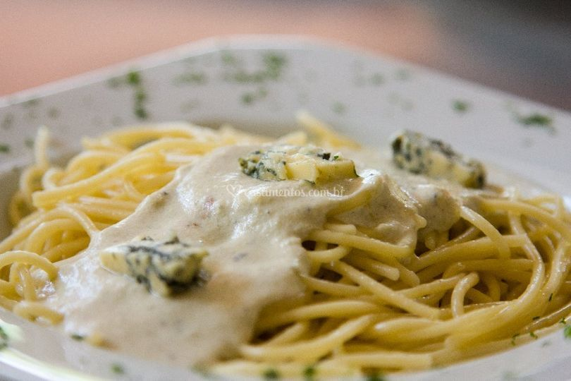 Spaghetti ao Roquefort