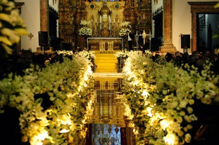 Iluminação | caminho da noiva