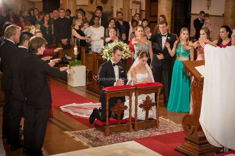 Bençãos aos noivos