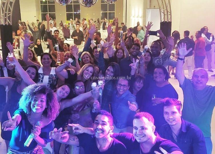 Show Casamento Clube Oficíais