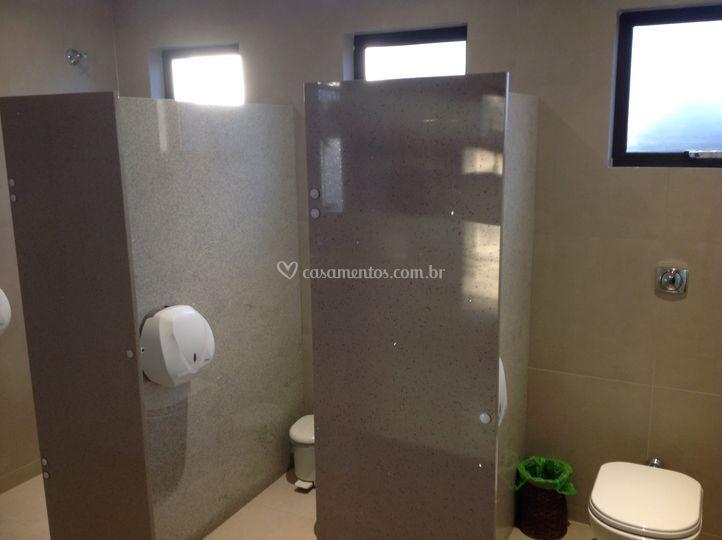 Novo banheiro feminino